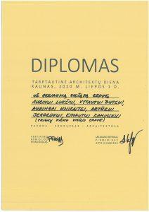 2020 Prienų Diplomas